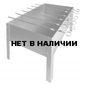 Мангал малый 5 шампуров (400х250х400) в сумке (сталь 0,5мм) Технолит 3-02-0056
