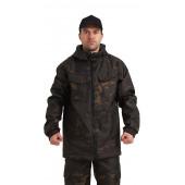 Костюм РОВЕР куртка/брюки, цвет:, камуфляж Мультикам черный, ткань : Полофлис