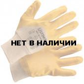 Перчатки с облегченным нитриловым покрытием, манжета, полуобливные ULT400L