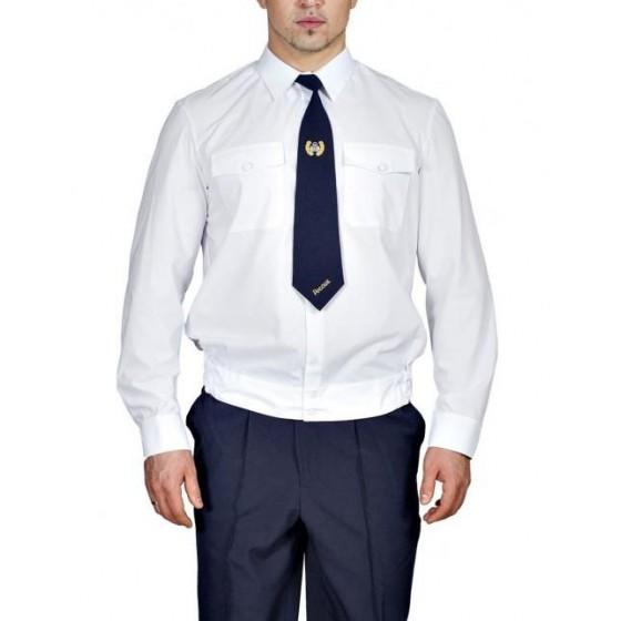 Рубашка Генерал Полиции белая с длинным рукавом индивидуальный пошив