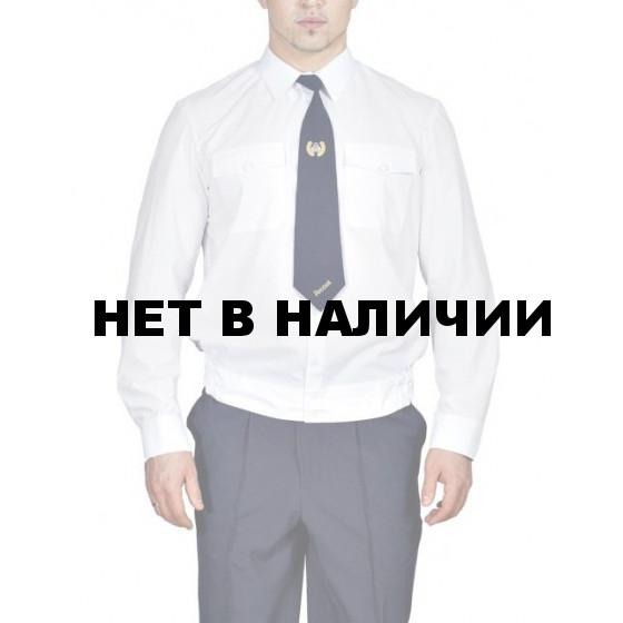 Рубашка Полиции белая с длинным рукавом индивидуальный пошив