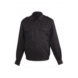 Б/п куртка для охраны глянцевая смесовая 1208