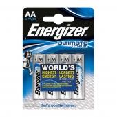 Батарейки Energizer Ultimate Lithium AA (4шт)