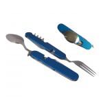Набор столовых приборов в одном предмете, разборный на 2 части AceCamp Detachable Cutlery Set 2574