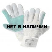 Перчатки спилковые комбинированные Титан