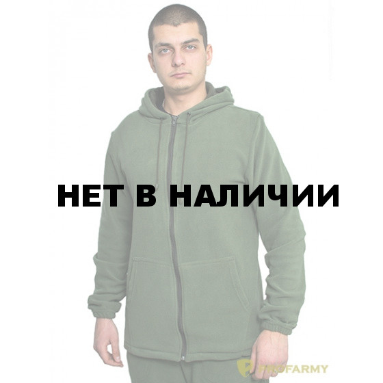 Куртка флисовая TERRA олива