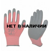 Перчатки БАРРАКУДА полиамидные с рельефным латексым покрытием,55г/пара