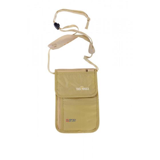 Кошелек Skin Neck Pouch RFID B natural, 2959.225