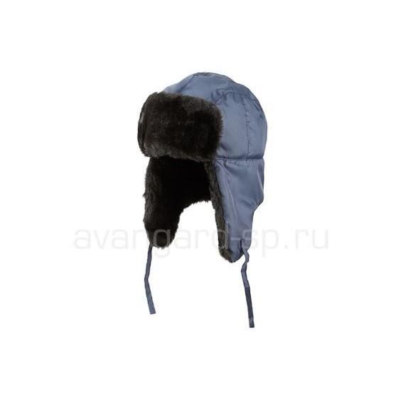 Шапка-ушанка Антифрост NEW цвет синий
