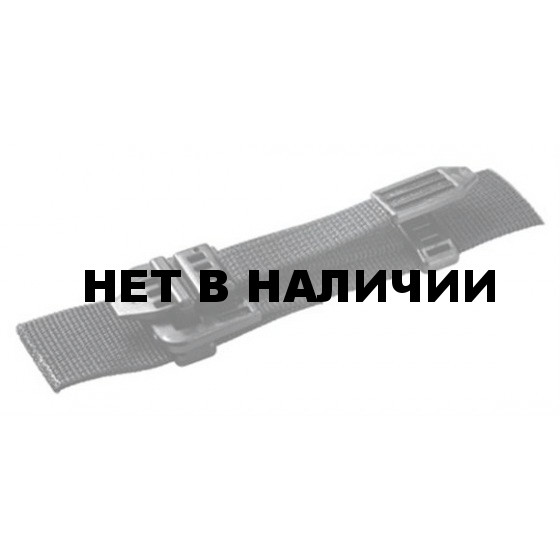 Пряжка бесшумная 25мм 1-10085/1-20085 (2части) оливковый Duraflex