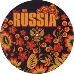 Наклейка RUSSIA Хохлома сувенирная