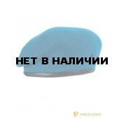 Берет бесшовный (голубой)