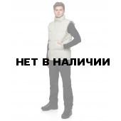 Мужской пуховой жилет Баск TRAVERSE MV серый свтл