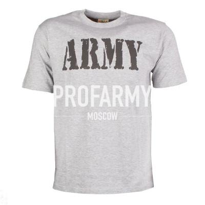 Футболка ARMY (серый)