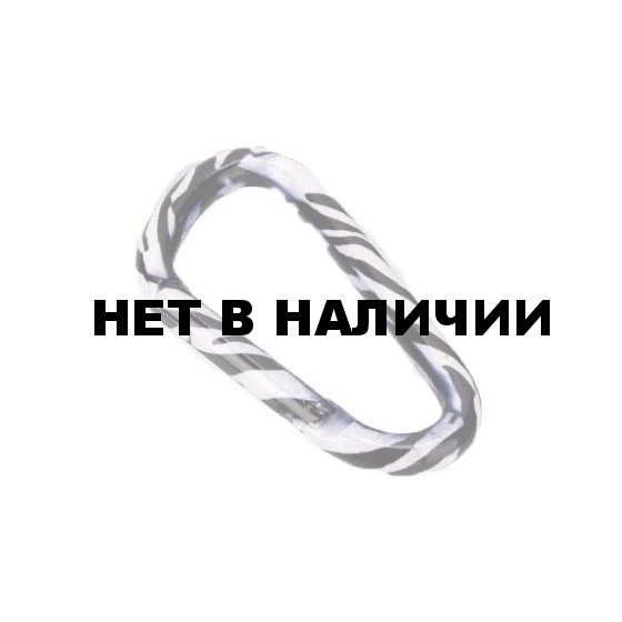 Карабин Зебра диам. 8*80мм (упак=10 шт), 3316