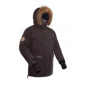 Куртка пуховая BASK PUTORANA SOFT коричневая