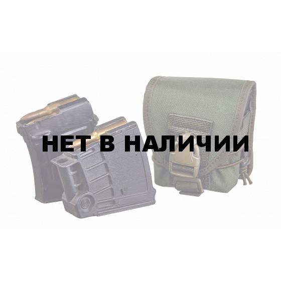 Подсумок под 2 магазина СВД или СВ 98 олива (molle) 18489020