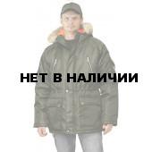 Куртка зимняя АЛЯСКА удлиненная цвет: хаки