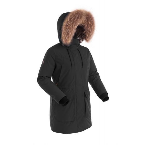 Куртка пуховая женская BASK LYRA черная