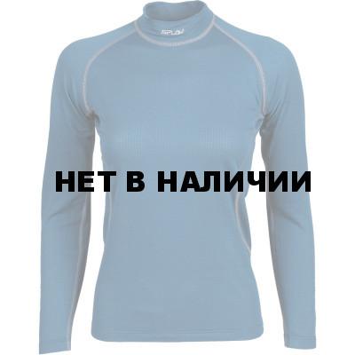 Термобелье женское Energy футболка L/S Thermal Grid light морская волна