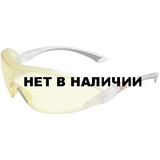 Очки открытые ЗМ 2842 желтые