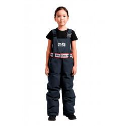 Полукомбинезон пуховый детский BASK kids NARVI серый тмн