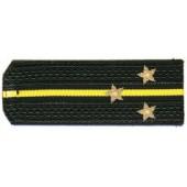 Погоны ВМФ вышитые Старший лейтенант повседневные