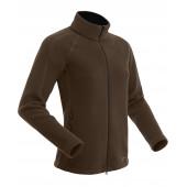 Куртка женская BASK Polartec JUMP LJ коричневая
