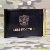 Обложка КУ-4 шик черная МВД