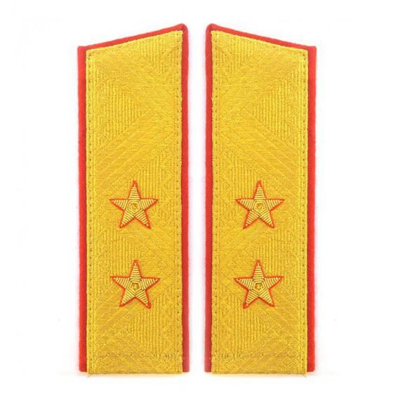 Погоны генерал-лейтенант МО на китель парадные