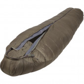 Спальный мешок пуховый Mission Light серый 190х75х53