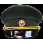 Фуражка МО зеленая (ткань габардин)