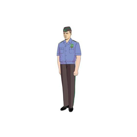 Рубашка Россельхознадзор с коротким рукавом (пошив по меркам)