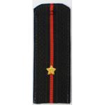 Погоны Береговые части ВМФ вышитые Младший лейтенант повседневные трапеция
