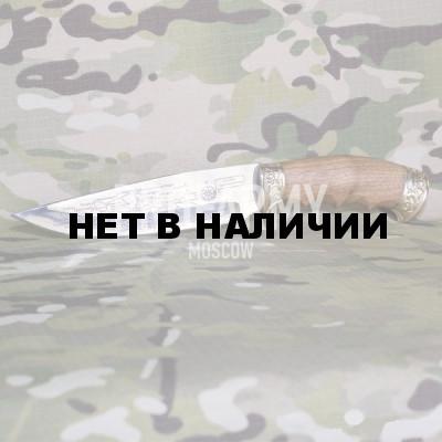 Нож Беркут (латунь, карта)