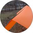 Тент Cowl 3.0x4.5м Si/Pu оранжевый