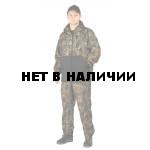 Костюм флисовый ПИКНИК куртка/брюки, цвет:, камуфляж тростник/черный