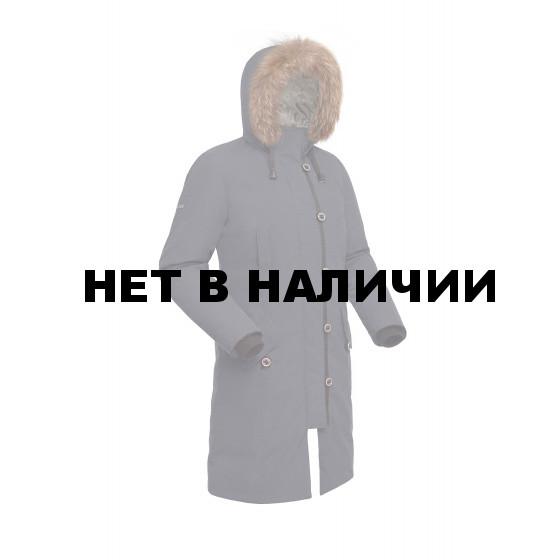 Пальто пуховое женское BASK HATANGA V2 темно-серое