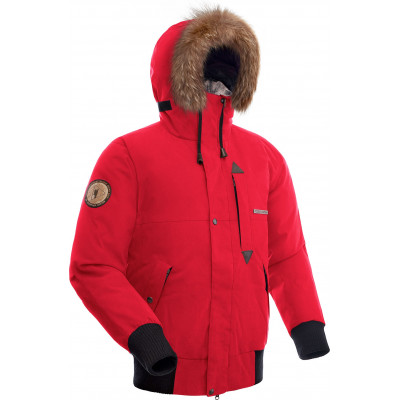 Куртка пуховая мужская BASK TOBOL красная
