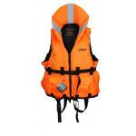 Жилет спасательный Ifrit-140, цвет оранжевый, ткань Оксфорд 240D,