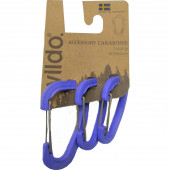 Карабины для аксессуаров в наборе ACCESSORY CARABINER 3-SET от WILDO® BLUEBERRY, 89675