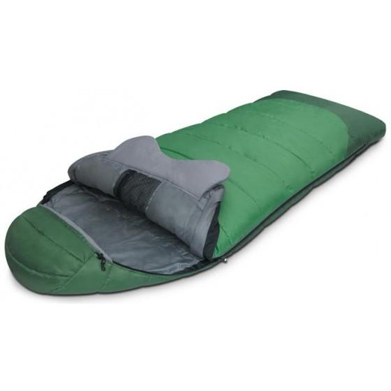Мешок спальный FOREST зеленый, левый