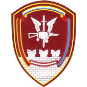 Нашивка на рукав с липучкой Росгвардия Управление Спецназа ОДОН им.Дзержинского пластик