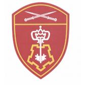 Шеврон Росгвардия Северо-Кавказский округ Вневедомственная охрана люрекс