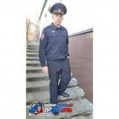 Костюм Полиция мужской НОВОГО ОБРАЗЦА (ткань габардин)
