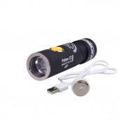 Фонарь Armytek Prime C1 Pro XP-L USB теплый(Серебро)