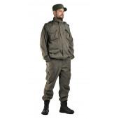 Костюм КАПРАЛ куртка/брюки, цвет: табак, ткань : Твил Пич 240