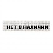 Лычка металлическая МВД серебряного цвета ФМ-116