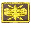 Эмблема петличная РТВ ВВС нового образца вышивка шелк