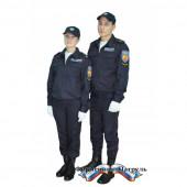 Костюм Полиция (ППС) тип Б на резинке (, ткань поливискоза Мираж)